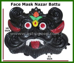 FAce Mask-Nazar Battu