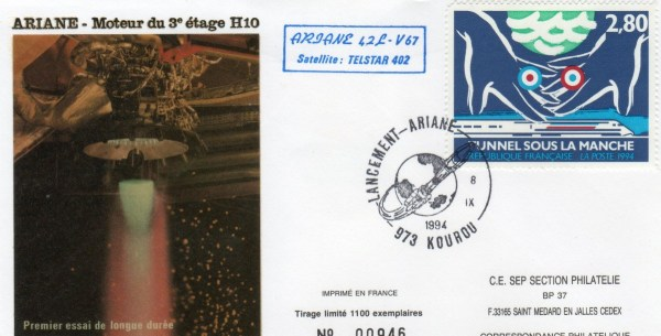 A067 - Vol 67 du 08 Septembre 1994