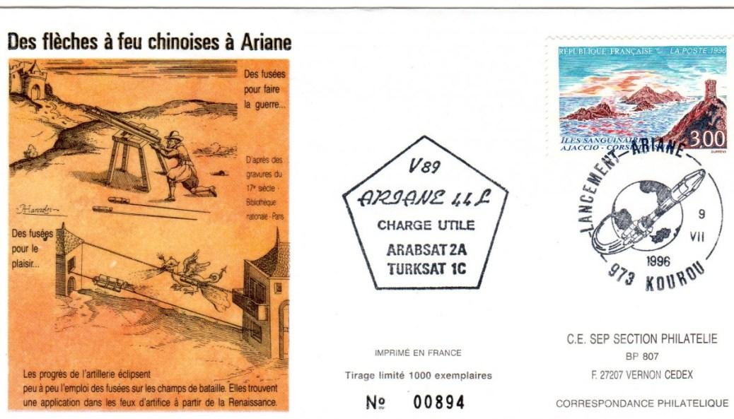 A089 - Vol 89 du 09 Juillet 1996
