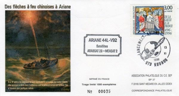 A092 - Vol 92 du 13 Novembre 1996