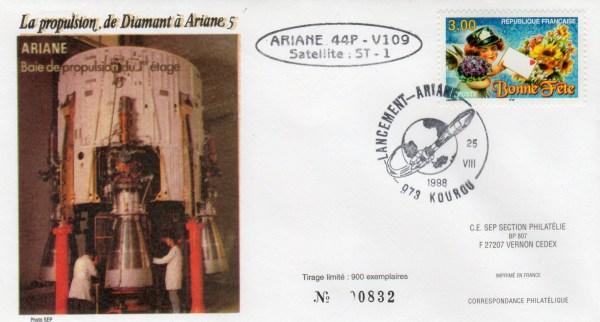 A109 - Vol 109 du 25 Aout 1998