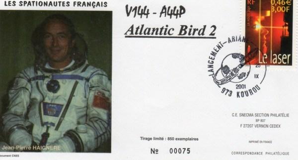 A144 - Vol 144 du 25 Septembre 2001