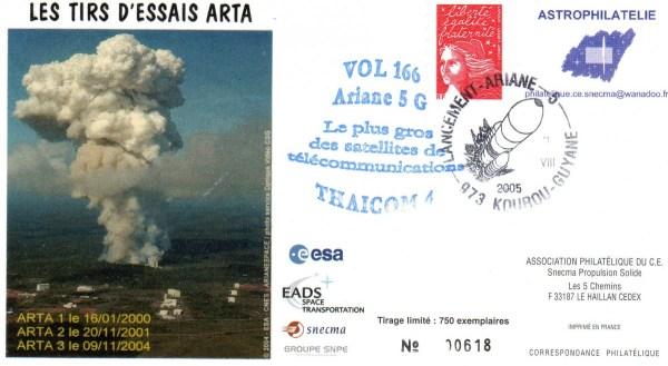 A166 - Vol 166 du 11 Aout 2005