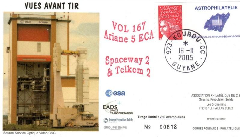 A167 - Vol 167 du 16 Novembre 2005