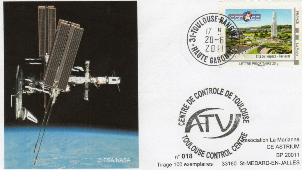 A200 4 - Vol 200 - 20 Juin 2011 - Désarrimage de l'ATV 2 de l'ISS