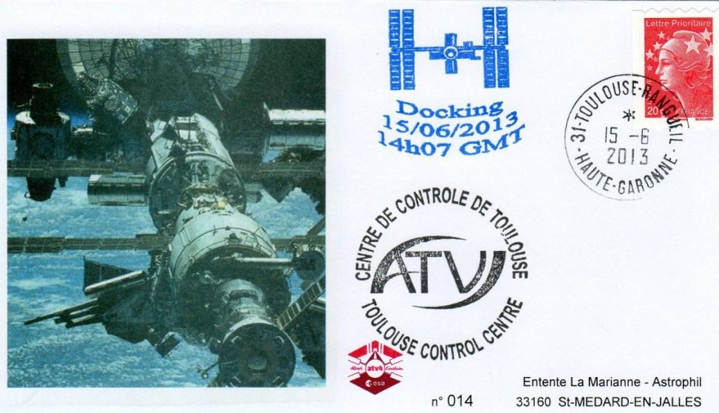 A213 2 - Vol 213 - ATV 4 - 15 Juin 2013 - Docking à l'ISS