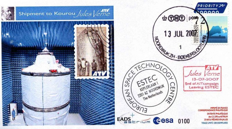 ATV1 ESTEC2 red - Vol 181 - 13 Juillet 2007 - ATV fin de campagne d'essais à l'ESTEC