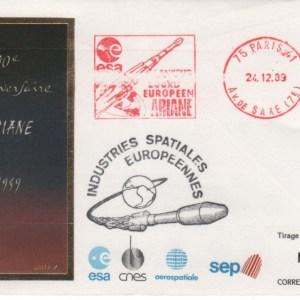 DC003 - Document - Ariane - 24 Décembre 1989 10ème Anniversaire - ESA Paris