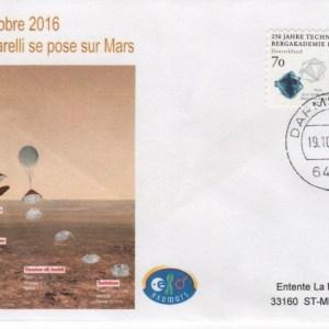 DE002 2 - Spatial - 19 Octobre 2016 - capsule schiaparelli atterrissage sur Mars