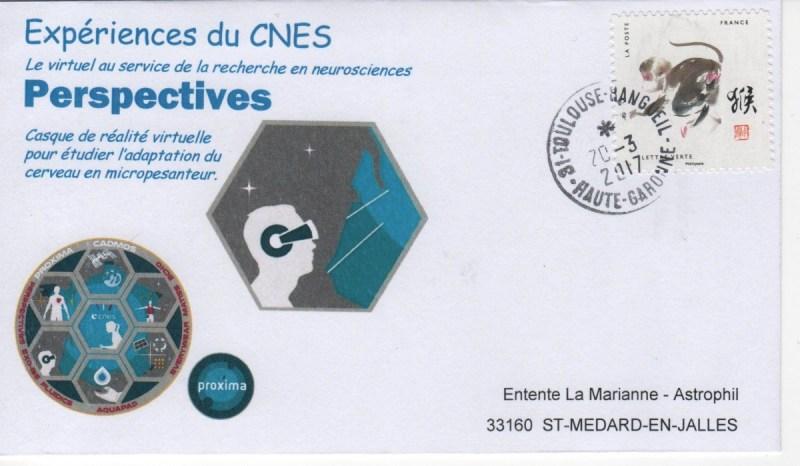 DE005 3 - Spatial - 20 Mars 2017 - Mission Proxima expérience Perspectives