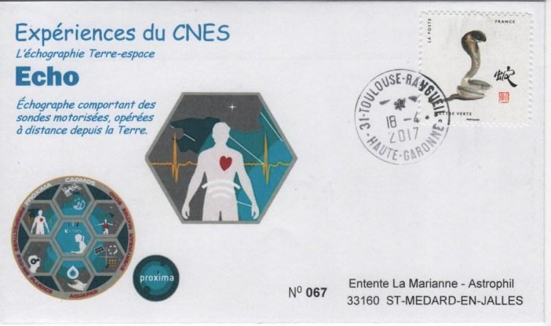 DE005 4 - Spatial - 18 Avril 2017 - Mission Proxima expérience Echo