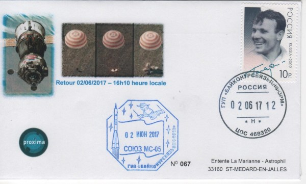 DE005 6 - Spatial - 02 Juin 2017 - Thomas Pesquet retour sur Terre - Mission Proxima