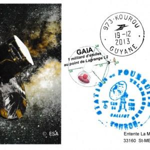Gaia 20131219 - VS-06 - 19 Décembre 2013 - Station de poursuite Galliot Kourou (Guyane)