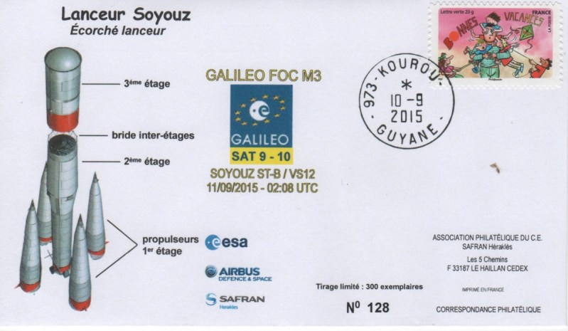 S012 - Soyouz - Vol VS12 du 10 Septembre 2015
