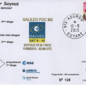 S012 - Soyouz - Vol VS12 du 10 Septembre 2015