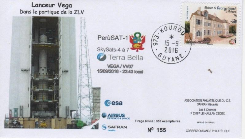 V007 - Vega - Vol VV07 du 15 Septembre 2016