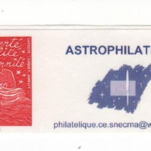 DT003 - Document - Timbre personnalisé - Astrophilatélie