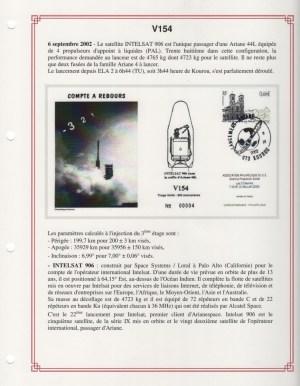 FA006 - Fiches Album - Vol 154 à Vol 161 - (9 Fiches) - Tome 3 A5