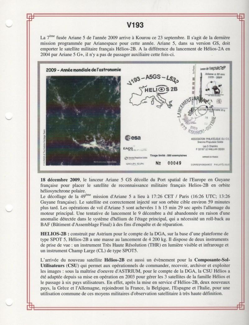 FA009 - Fiches Album - Vol 193 à Vol 204 - (14 Fiches) - Album 3  A5