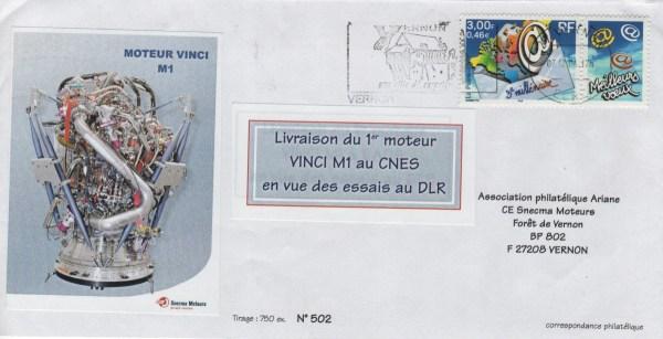 016 - Livraison Moteur Vinci au CNES le 07 Décembre 2004