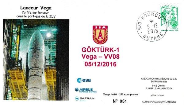VV08 - Vol Véga VV08 du 05 Décembre 2016
