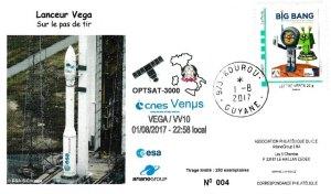 VV10 - Vol VEGA - VV010 - du 01 Aout 2017