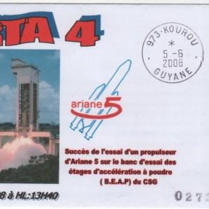 003 - Ariane 5 - Essai ARTA 4 au BEAP de Kourou - 05 Juin 2008
