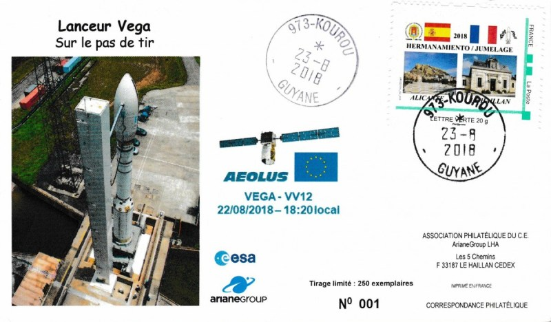 VV12 - lancement Vega VV12 du 22 Aout 2018