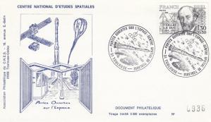 Divers Portes ouvertes CST - Commémoratif - Portes ouvertes sur l'espace - CNES Toulouse 10 Mai 1980 - C1