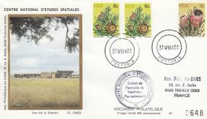 Divers Pretoria Arret station - Station radar de Pretoria (Afrique du Sud) - Fin d'utilisation par le CNES 31 Juillet 1981 - C1