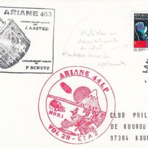V29 Ariane4 Mop - Kourou - Lancement Ariane 4 - 44LP - Vol 29 -  06 Mars 1989