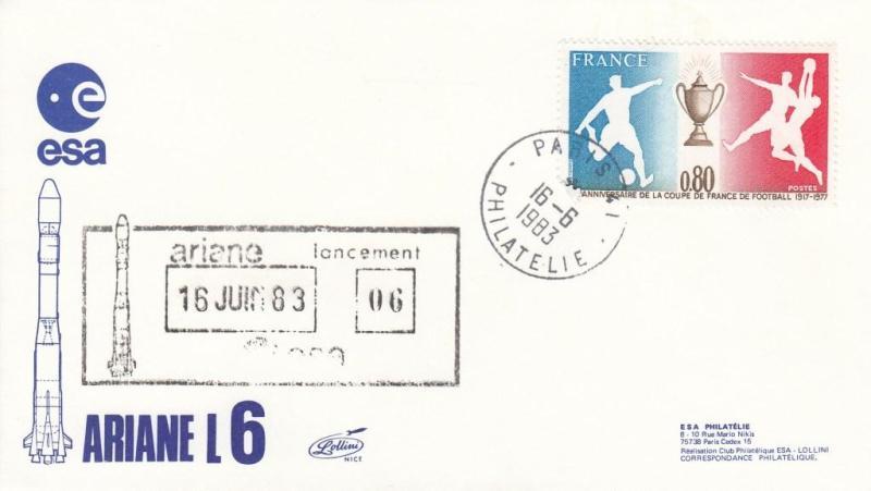 V6 Ariane1 - Paris Segur - Lancement Ariane 1 - L06 - 16 Juin 1983 - C1