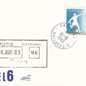 V6 Ariane1 - Paris Segur - Lancement Ariane 1 - L06 - 16 Juin 1983