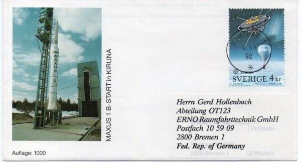 img20191211 15251883 - Base Kiruna (Suède) - Tir SSC, DLR (Allemagne) - MAXUS 1B - 08 Novembre 1992