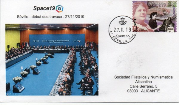 img20200224 12082914 - Conférence Ministérielle ESA - Space 19 Séville Espagne - 27 Novembre 2019