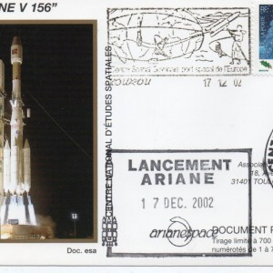img20200427 18154470 - Kourou (Guyane) Lancement Ariane 4 - 44L – Vol 156 - 17 Décembre 2002 (Enveloppes Club Phila du CNES)