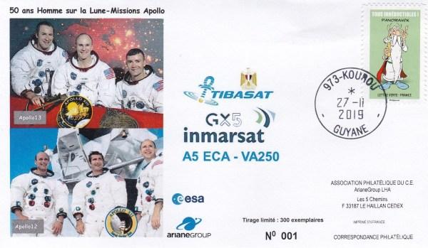 VA250 - Lancement Ariane 5 - VA 250 - 27 Novembre 2019 - 18h23 hl -