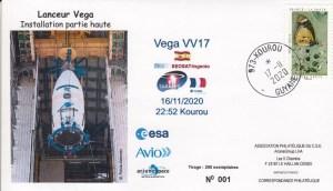 VV17 - Lancement VEGA - Vol VV17 - Le 16 Novembre 2020 - 22h52 Kourou