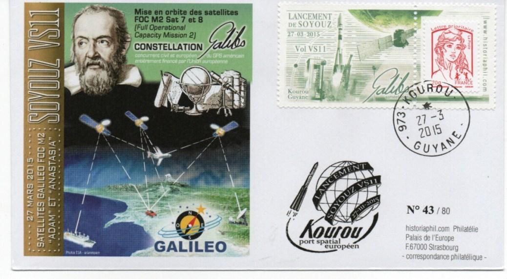img20210924 19015224 - SOYOUZ VS11 – Kourou 27 Mars 2015 – Enveloppe Conseil de l'Europe – C11