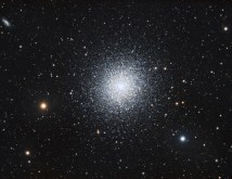 M13, the Great Globular Cluster by Sara Wager