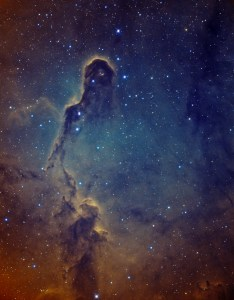The Elephant's Trunk nebula in IC1396 by Yves van den Broek