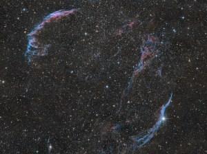 Michael Schmidt - The Veil Nebula - 12 panel mosaic