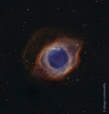 The Eye of God - The Helix Nebula by Diego Colonnello