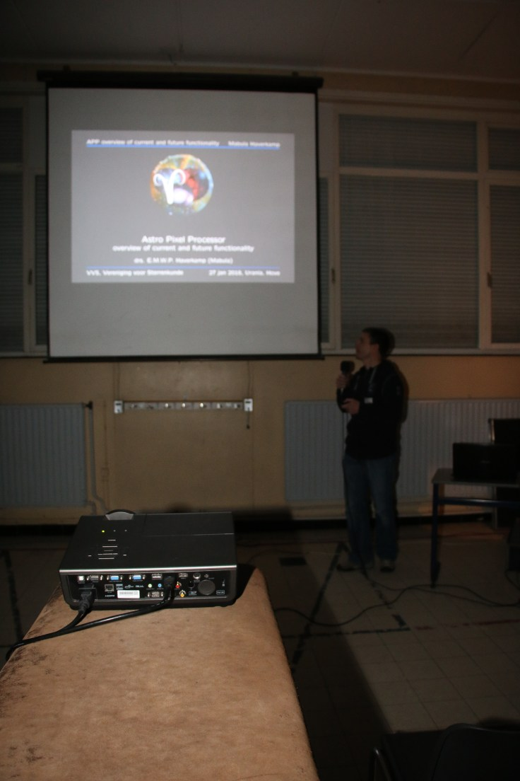 Mabula Haverkamp just started his talk about Astro Pixel Processor