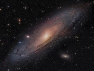 Messier 31 - The Andromeda Galaxy Mosaic in 8K resolution by Frank Schmitz