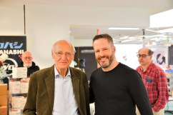 Diego Colonnello and Gerard Haverkamp (Mabula's father) at the ATT Essen.
