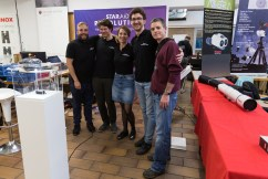 Complete StarAid crew and Mabula Haverkamp from Aries Productions - Astro Pixel Processor on the right side