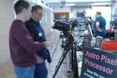 Mabula Haverkamp and Jörg Henkel from the ATT organization talking about astrophotography in general and Astro Pixel Processor in particular.