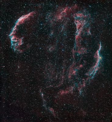 veil nebula complex haoIIIrgb