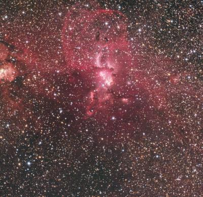 NGC3576RGB RGB image lpc cbg mod St